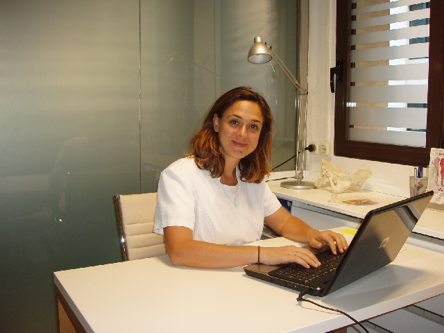 Susana Sánchez Fisioterapeuta de COFICAM